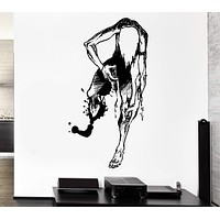 Wall Decal Drugs Dependency Injection Death Freak Addiction Vinyl Decal Unique Gift (ed351)