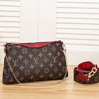 LV Louis vuitton Women Shopping Bag Canvas Handbag Tote Cosmetic Bag Crossbody Satchel Shoulder Bag