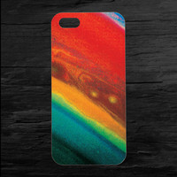 Saturn Planetary Closeup iPhone 4 and 5 Case