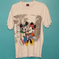 90s Mickey and Minnie Tshirt