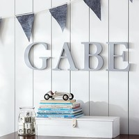 Gray Capital Letters | Pottery Barn Kids
