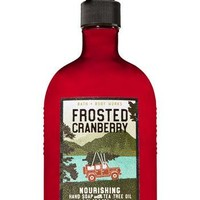 Bath & Body Works FROSTED CRANBERRY Nourishing Hand Soap 8 oz
