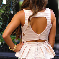 Your Favorite Little Top: Ivory   Hope's