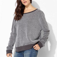 Project Social T City Fuzzy Pullover Sweatshirt - Urban Outfitters