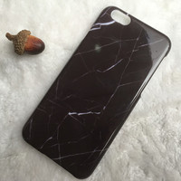 Black Marble iPhone 5s 6 6s Plus Case Cover Gift 2