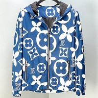 Free shipping-LV 2019 autumn and winter new classic old flower coat