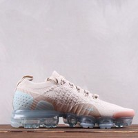 HCXX Nike Air Vapormax Flyknit 2.0 Fashion Causal Running Shoes Wheat