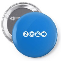 To Infinity and Beyond! Pin-back button