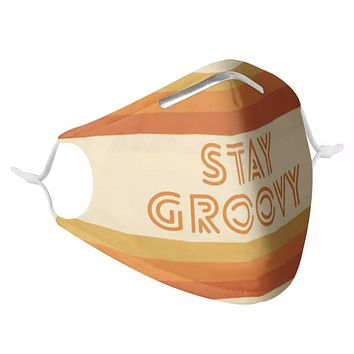 STAY GROOVY - MASK WITH (4) PM 2.5 CARBON FILTERS