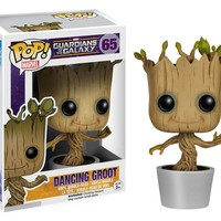 Funko - POP! Guardians of the Galaxy Baby Dancing Groot Figure 65 a F01