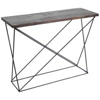 Claret Accent Table II