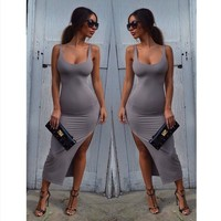 Hot Sale Summer Plus Size Sexy One Piece Dress [6048279105]