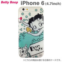 Betty Boop Character  Soft Type Case for iPhone 6 (Bath Time)