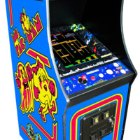 Multigame Ms Pacman Galaga Pac Man 60 Classic 80's Arcade Game Machine