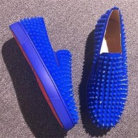 Cl Christian Louboutin Flat Style #694