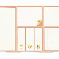 kate spade new york Sticky Note Set - Gold