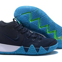 Nike Kyrie Irving 4 NAVY Basketball Shoes US7-12