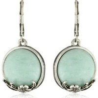 Amazon.com: NINE WEST VINTAGE AMERICA Sea Foam Drop Earrings: Jewelry