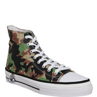 Zipz Army Camo Low Top Shoe Covers | Hot Topic