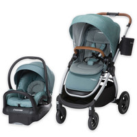 Maxi-Cosi® 2017 Adorra Travel System Silver Frame in Nomad Green