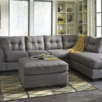 Ashley 452 Sectional w/ Ottoman
