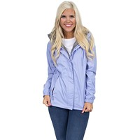 Preptec Rain Jacket in Lilac by Lauren James