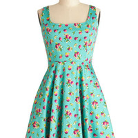 Very Charming Dress in Cranberries