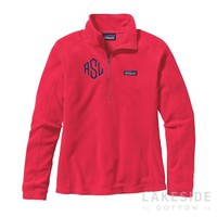 Micro D® 1/4-Zip Fleece in Cerise | Lakeside Cotton