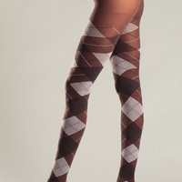 Be Wicked Lingerie BW647BR Pantyhose
