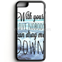 One Direction Drag Me Down Lyric iPhone 7 Case  | Aneend.com