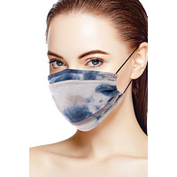 Tie Dye Trifold Reusable Face Mask