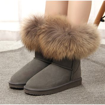 """simpleclothesv  """"UGG"""" Women Fashion leisure snow boots"""
