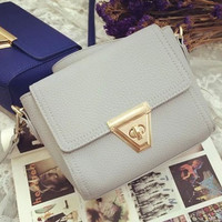 Brand Like Fashion Leather Shoulder Candy Multi Color Women Casual Messenger Bags Chic Handbag  _ 8331