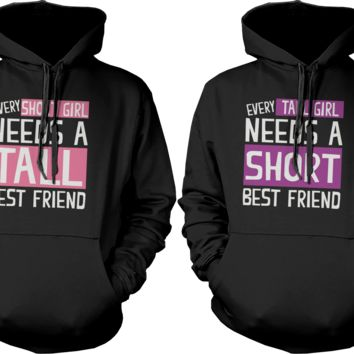 Short & Tall Girls Hoodies