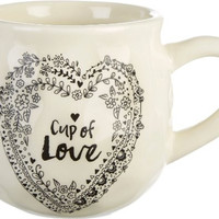 Cup of Love Coffee Mug by Natural Life