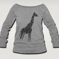 Giraffe Sweat Shirt  - Free Shipping