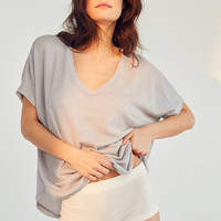 Out From Under Frankie Oversized Thermal T-Shirt   Urban Outfitters