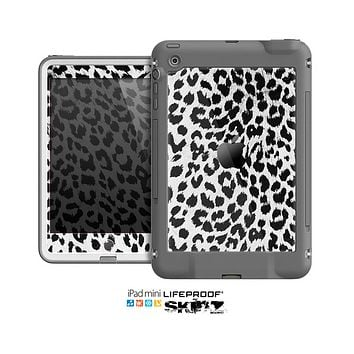The Vector Leopard Animal Print Skin for the Apple iPad Mini LifeProof Case