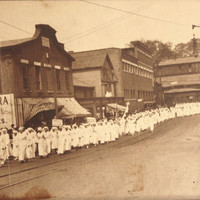 Large Panoramic Christian March DAUGHTERS of The KING Margaret J. Franklin