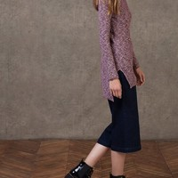 Twisted yarn jersey - KNITWEAR - WOMAN | Stradivarius Republic of Ireland