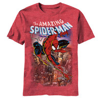 Spiderman Spiderscene Mens T-Shirt