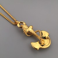 Jewelry Gift Shiny New Arrival Stylish Hot Sale Fashion Hip-hop Club Necklace [6542720707]