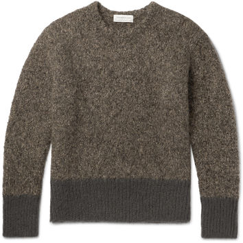 Tomorrowland - Mélange Alpaca-Blend Sweater