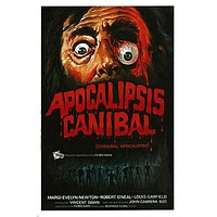virus MOVIE POSTER cannibal apocalypse SPOOKY DEMENTED bloody 24X36