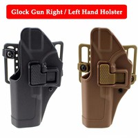 Quick Drop Tactical Right / Left Hand Glock Gun Belt Holster Hunting Airsoft Pistol Holster For Glock 17 19 22 23 31 32