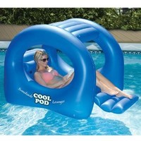 Coolpod Sunshade Lounger Swimming Pool Float