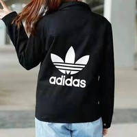 ADIDAS Newest Trending Men Women Casual Cardigan Jacket Coat Windbreaker