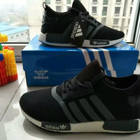 """""""Adidas"""" Fashion Casual Multicolor Stripe Sneakers Men Running Shoes"""