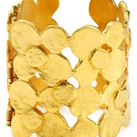Kenneth Jay Lane Coin Hinge Cuff | Bloomingdales's