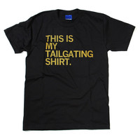 Tailgating Black T-Shirt